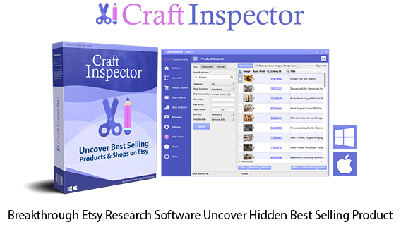 Craft Inspector Instant Download Etsy Research Software By Dave Guindon