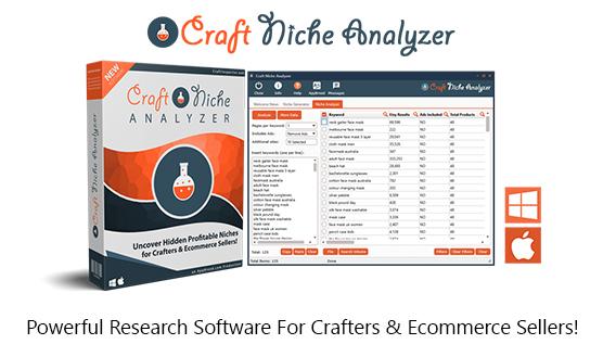 Craft Niche Analyzer Software Instant Download By Dave Guindon